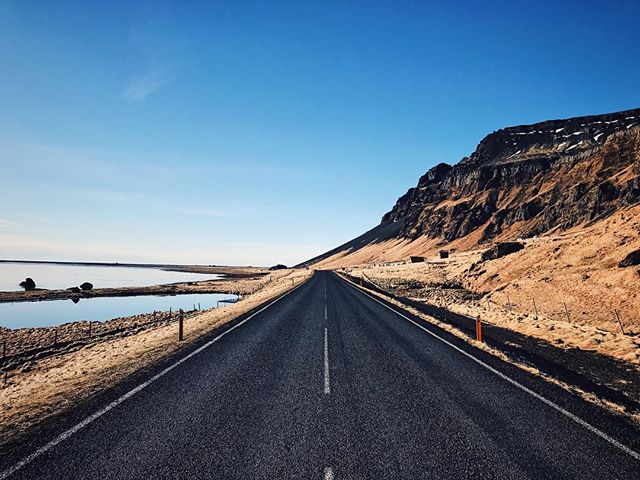 Iceland near the Atlantic