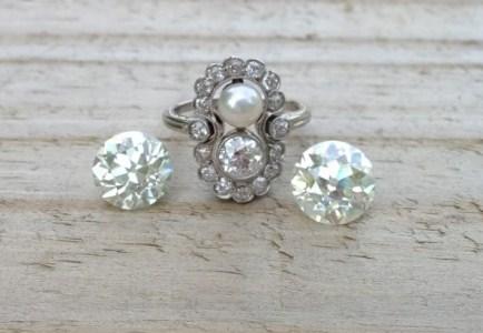 JYB Jewels Vintage Twin Ring