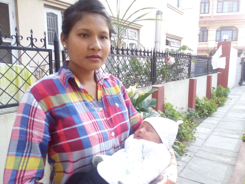 Sunita named her baby Grace, because she says that it was only God's grace that sustained her and her baby in the midst of calamity.