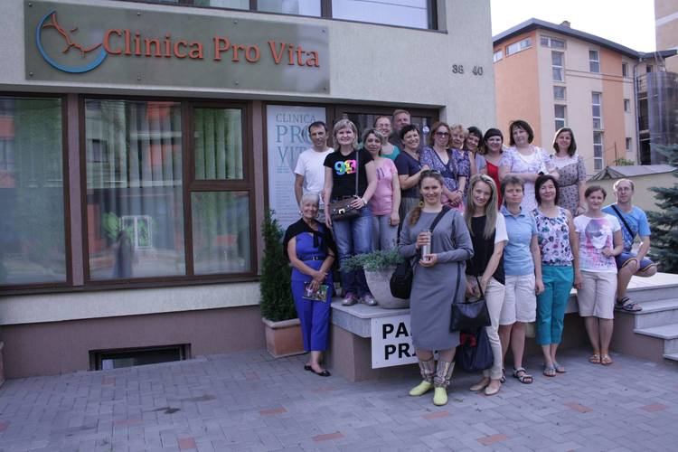 Summit attendees were hosted by the staff of Clinica Pro Vita, a crisis pregnancy clinic in Cluj-Napoca, Romania. One of the summit highlights was to tour the facility and see what the Lord has provided!