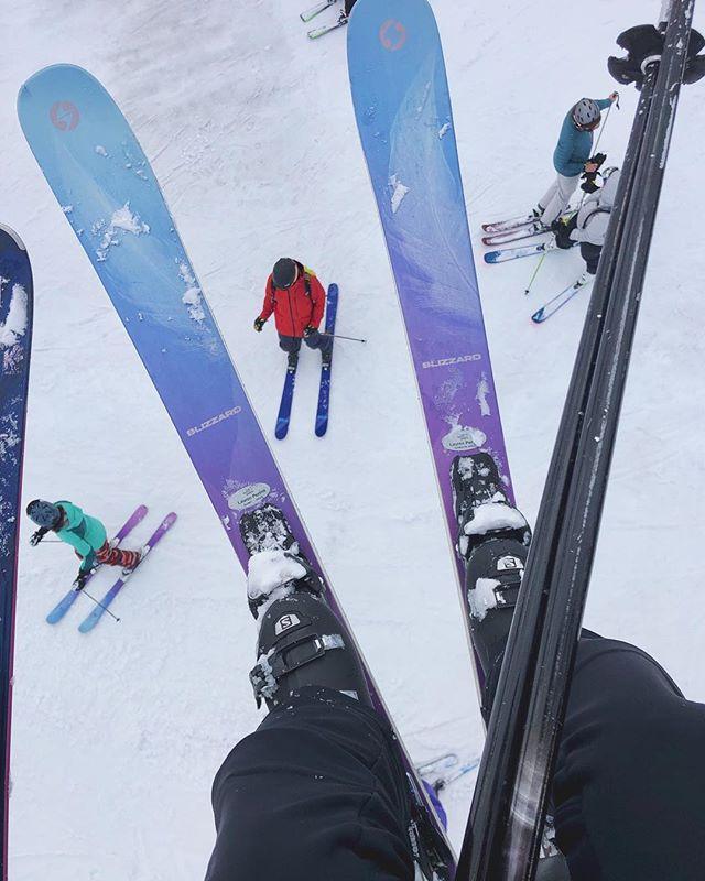 I, ski, you.