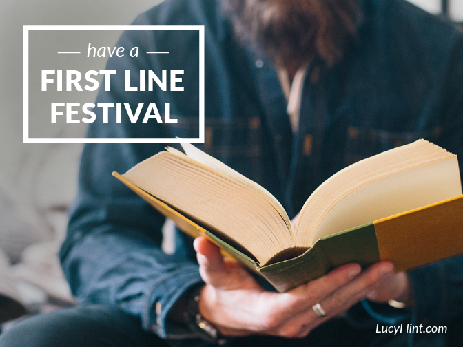 Word geeks ONLY. Here's a bunch of first lines you're about to love. | lucyflint.com