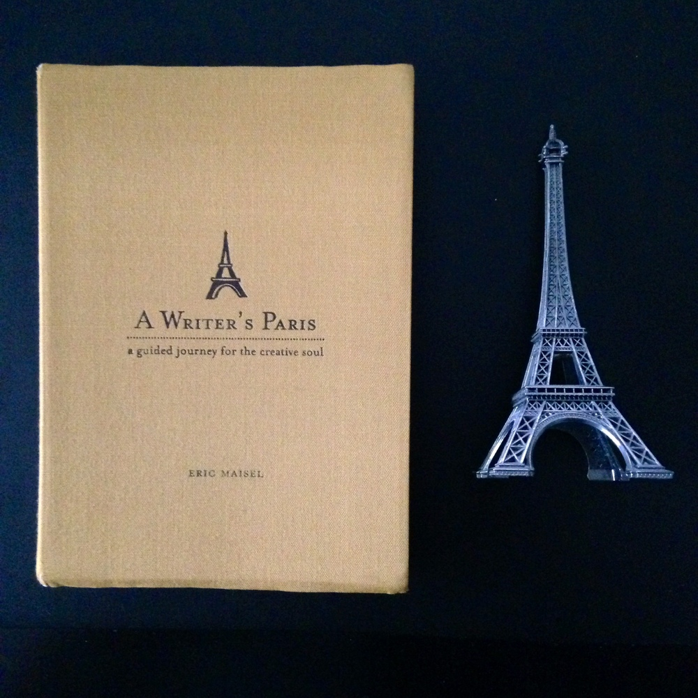 When you're discouraged, when you're frustrated, when there is rain in your writerly soul, pick up this book: A Writer's Paris, by Eric Maisel. And it will all get better. | lucyflint.com