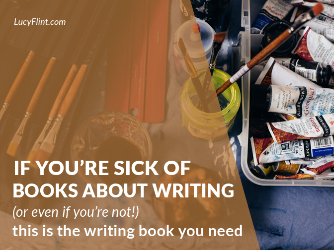 This is the super-exciting book that will JOLT your writing life awake. Seriously. | lucyflint.com