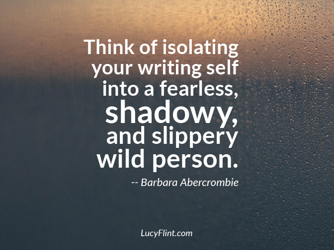 Be the fearless, shadowy, wild writer that you are. ... Thirty quotes for the mysterious, shadowy side of writing on lucyflint.com