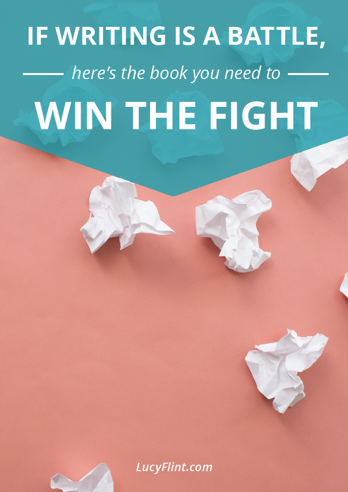 If you ever feel like you're battling it out alone at your writing desk, then this is the book recommendation you needed to hear. Get a coach, cheerleader, and master strategist in your corner. | lucyflint.com