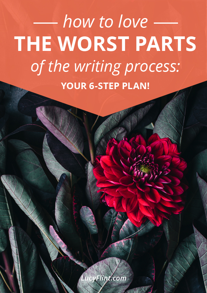 So, are there parts of your creative work that you find challenging? Stuff you dread? Tasks that you, um, hate? Yeah. Here's how to discover an affection for the most unlovable parts of your writing process. | lucyflint.com