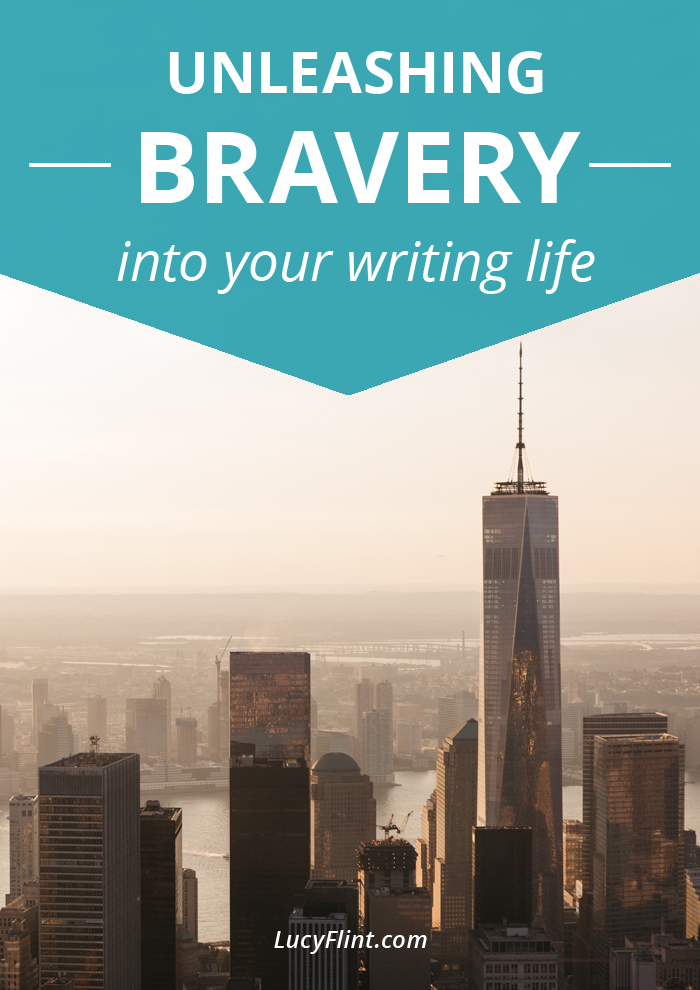 Writing takes guts. Here's where to get a bravery boost. | lucyflint.com