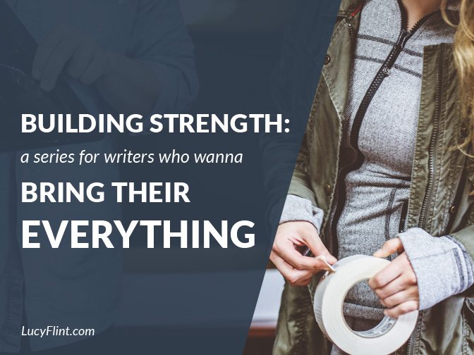 From the Lucy Flint Archives! A series on strengthening ... every which way! | lucyflint.com