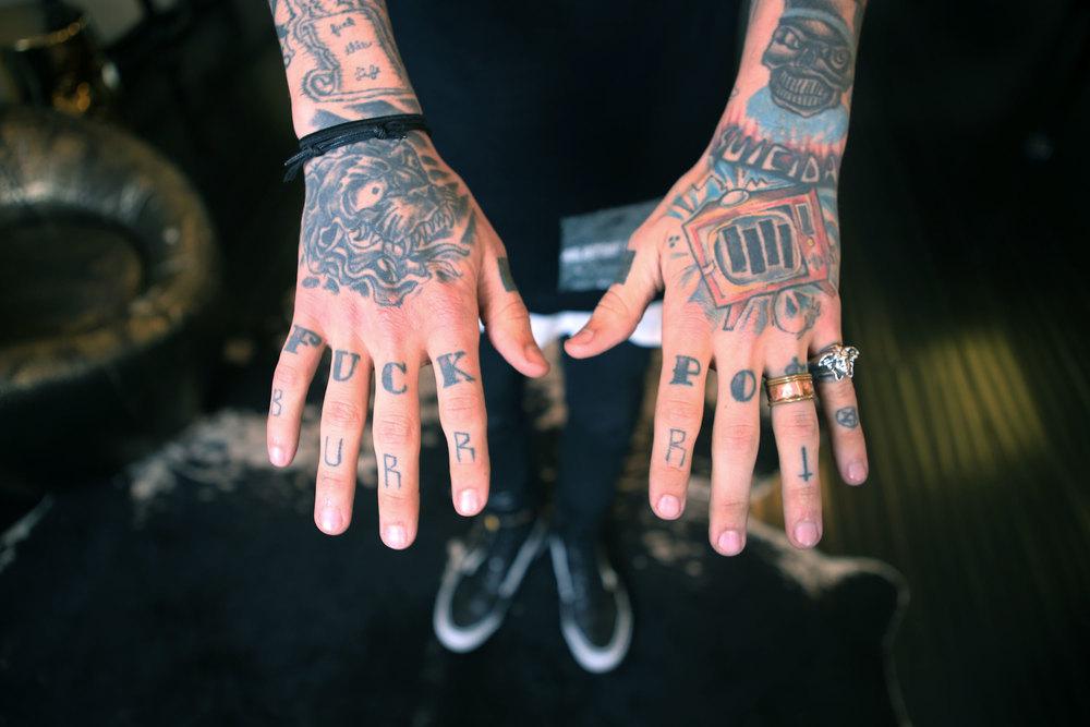 Tattoo Collector  Bradley Soileau
