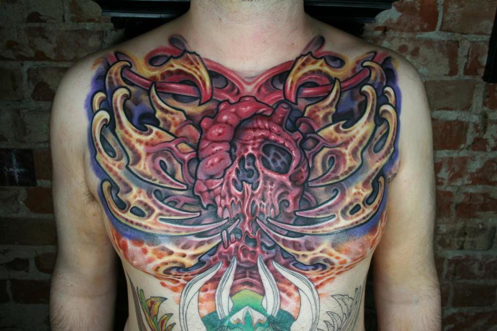 Tattoo Artist  Nathan Kostechko