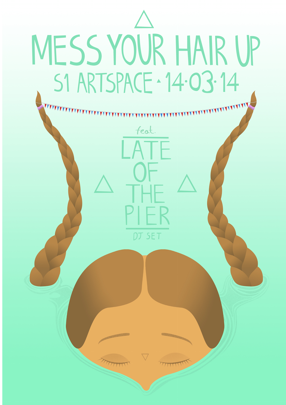 LATE OF THE PIER are quitting their four-year hiatus for a one-off DJ set in Sheffield, this Friday 14th March at S1 Artspace as part of our new club night 'Mess Your Hair Up'. Hopefully this means they're back for good, eh? Mess Your Hair Up #2 S1 Artspace, Sheffield Friday 14th March 10pm - 4am £3.50 adv / £5 otd Solange / Metronomy / Outkast / Thee Oh Sees / Haim / Fleetwood Mac / Talking Heads / Jamie XX / Pulp / Parquet Courts / Little Dragon / Azealia Banks / LCD Soundsystem / Ty Segall / White Denim / Mac DeMarco / Tame Impala / Disclosure / Grizzly Bear / The Cure / Danny Brown / Kevin Lyttle / Django Django / Tom Vek / Drake / Kindness / Purity Ring / The Smiths / Blood Orange / Santigold / Hot Chip / Friendly Fires http://fb.com/messyourhairupclub