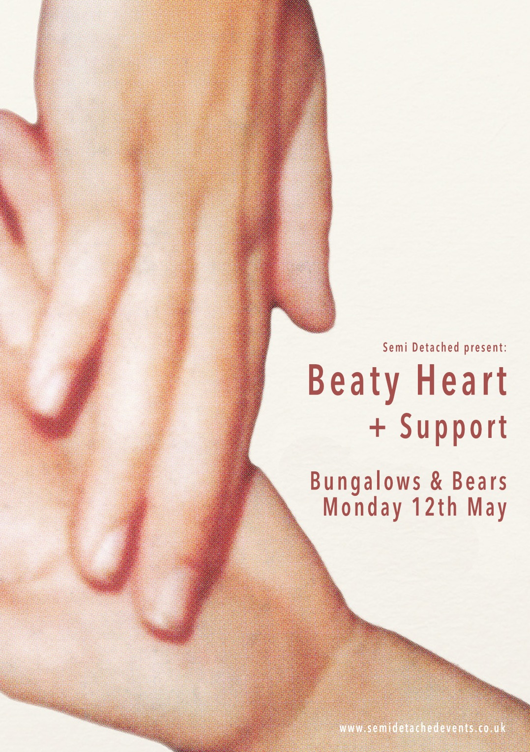 NEW SHOW: Beaty Heart return to Sheffield on Monday 12th May. More info available here. http://fb.com/semidetachedevents