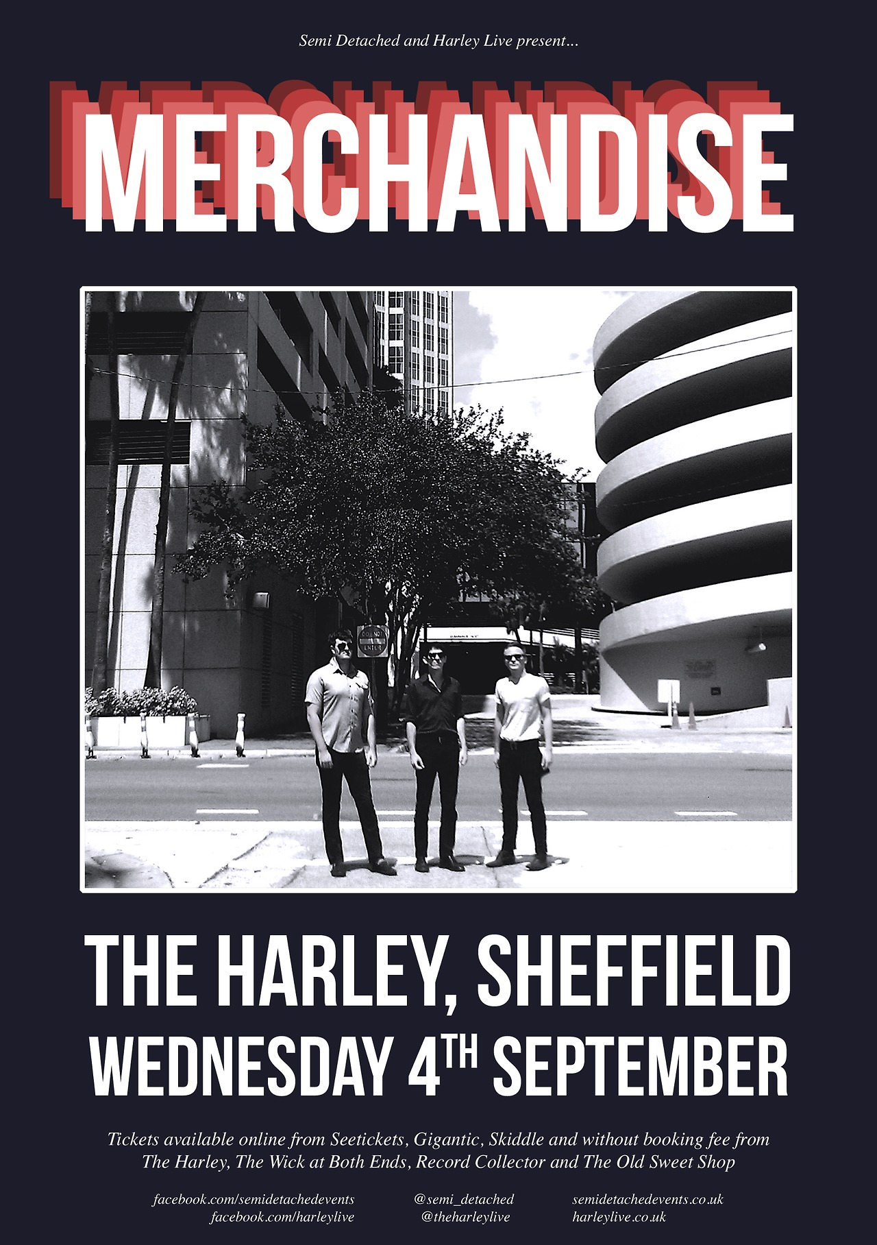 MERCHANDISE play The Harley Sheffield, Wednesday 4th September.