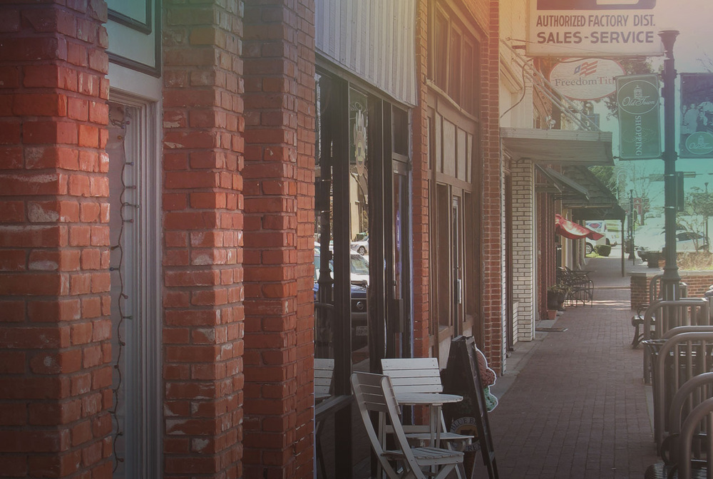 Authentic    Based in the Main & Mill historic district in Lewisville, Texas.    History & Community