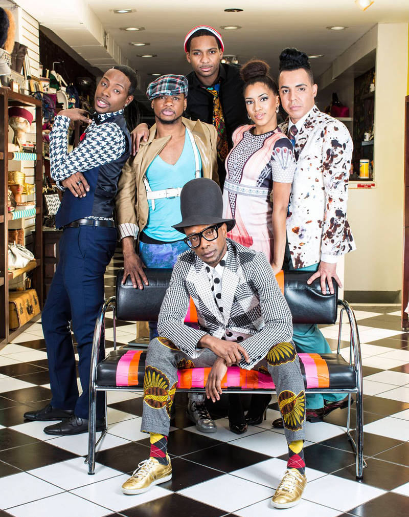 The cast of B.O.R.N. to Style, my new favorite show!