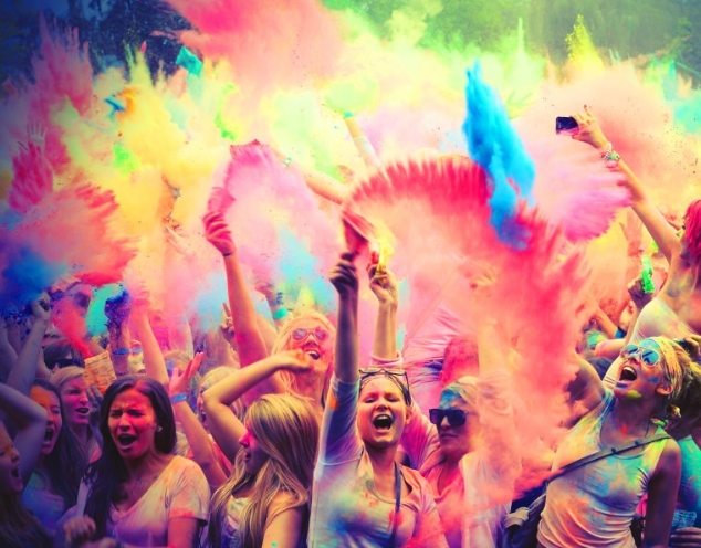 Kashmir Cannabis Color Festival