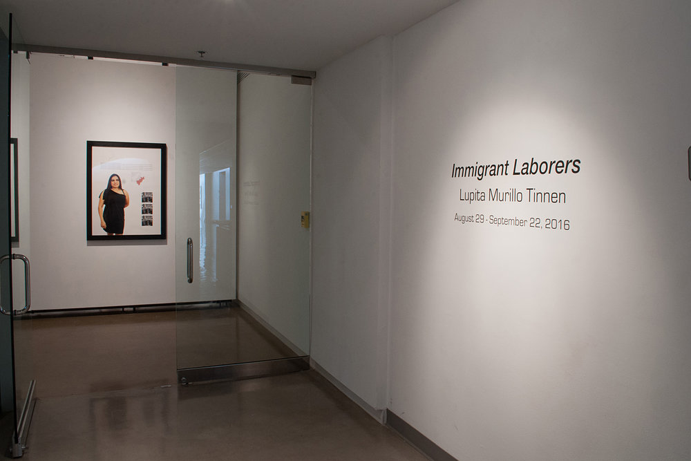 Immigrant Laborers by Lupita Murillo Tinnen organized, curated and moderated by Raul Rodriguez