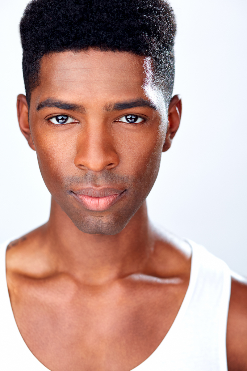 Galen Williams  Broadway's Motown: The Musical Headshots, NYC
