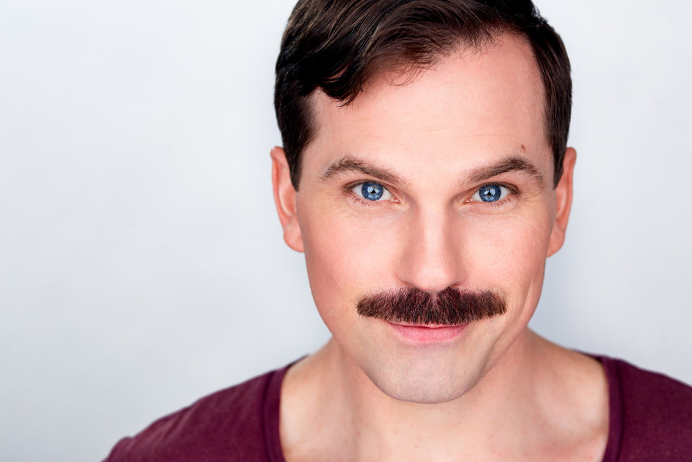 Justin Ivan Brown | New York Actor Headshots, NYC