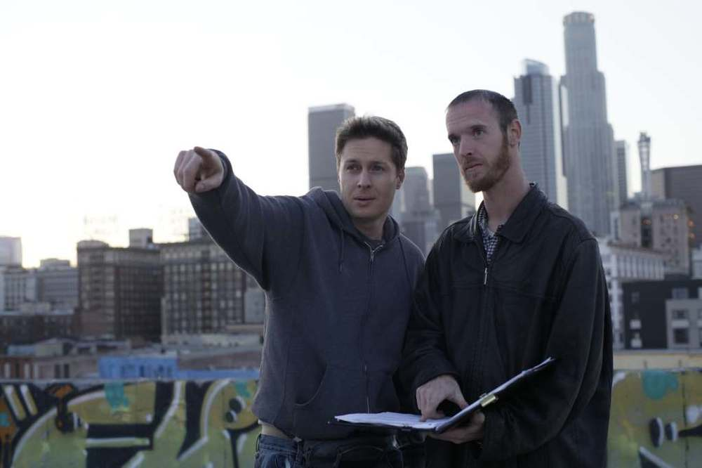 Tim and Donavon pose