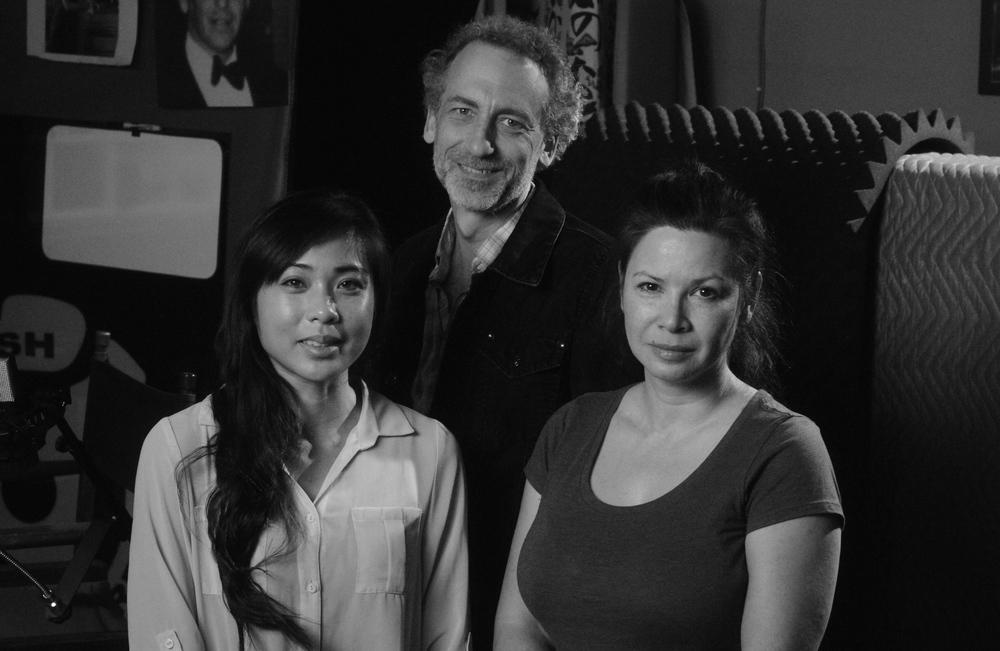 Cinematic Immunity panelists Vannessa Manlunas, Ted Hayash and Danelle Hand.