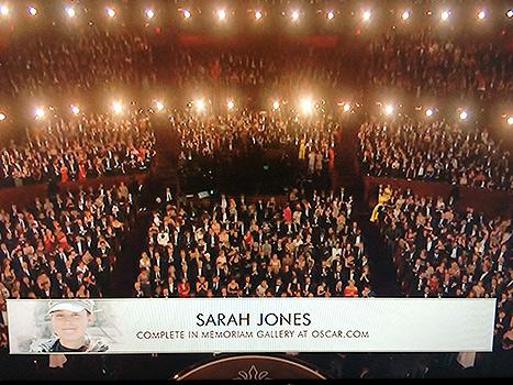Sarah on Camera