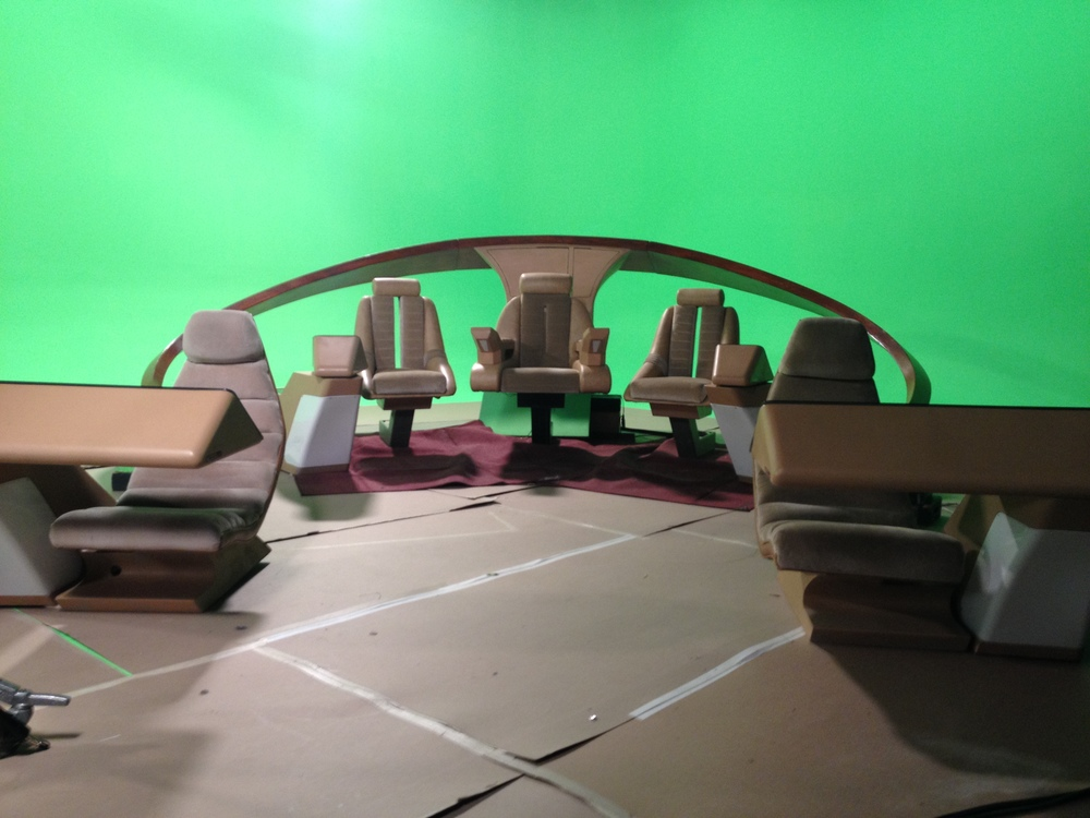 "U.S.S. Enterprise ""Save The Bridge"" PSA Shoot"