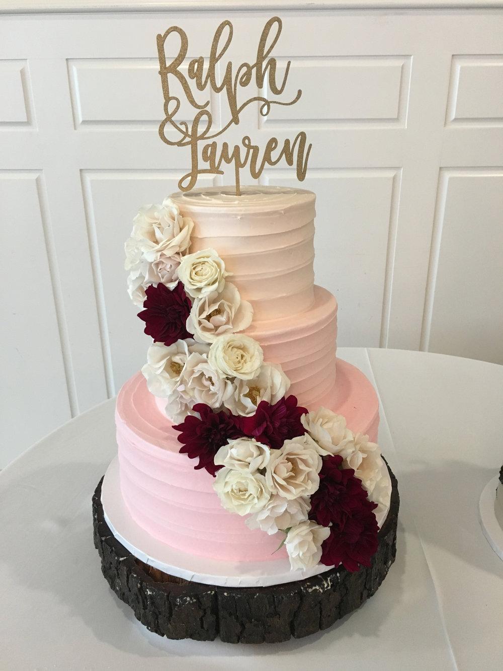 Bride S Cake Gallery Sweet Treets Bakery