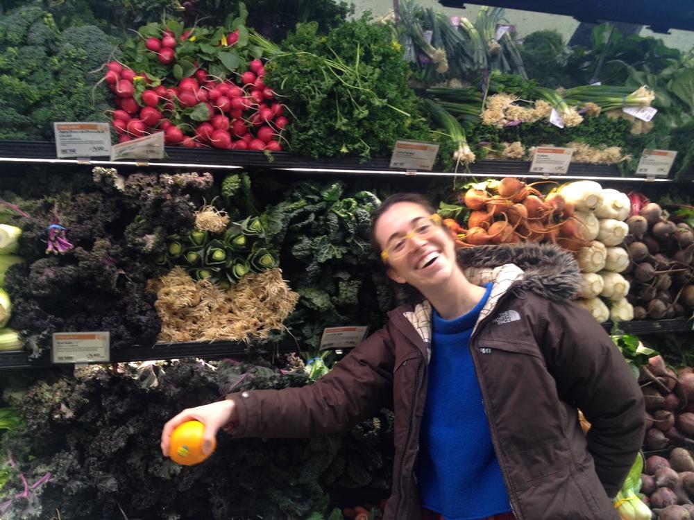 Brittany loves vegetables.