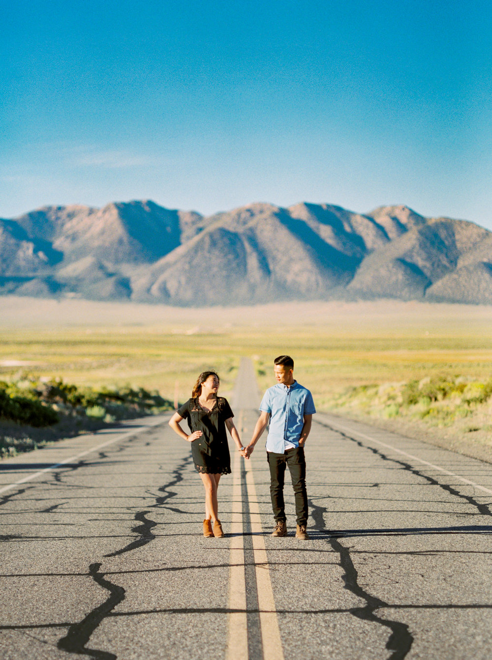 Kara & Ben | Mammoth Lakes Engagement