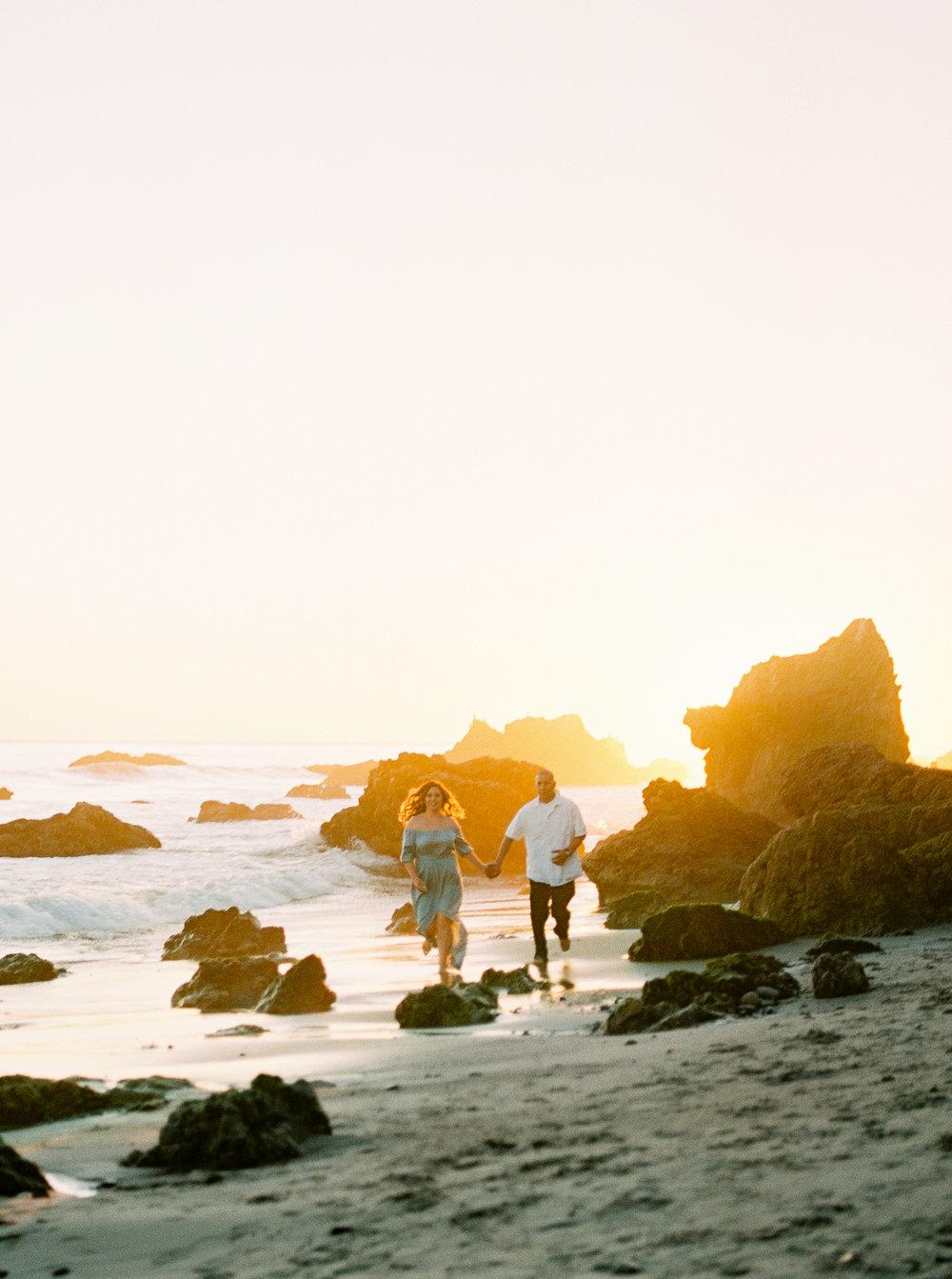 Liana & Alfredo | Malibu Engagement