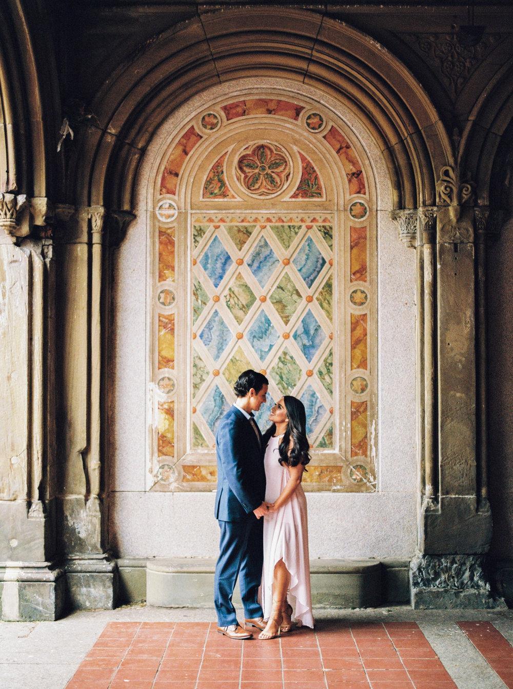 Michelle & Matthew | Central Park, NYC Engagement
