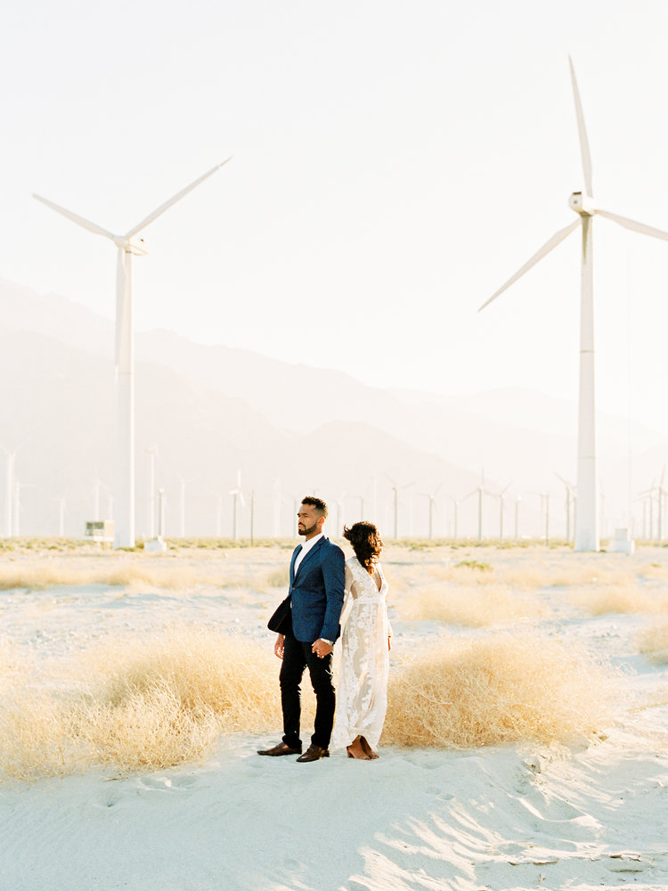 ESSENCE & CHARLES | Palm Springs Windmills