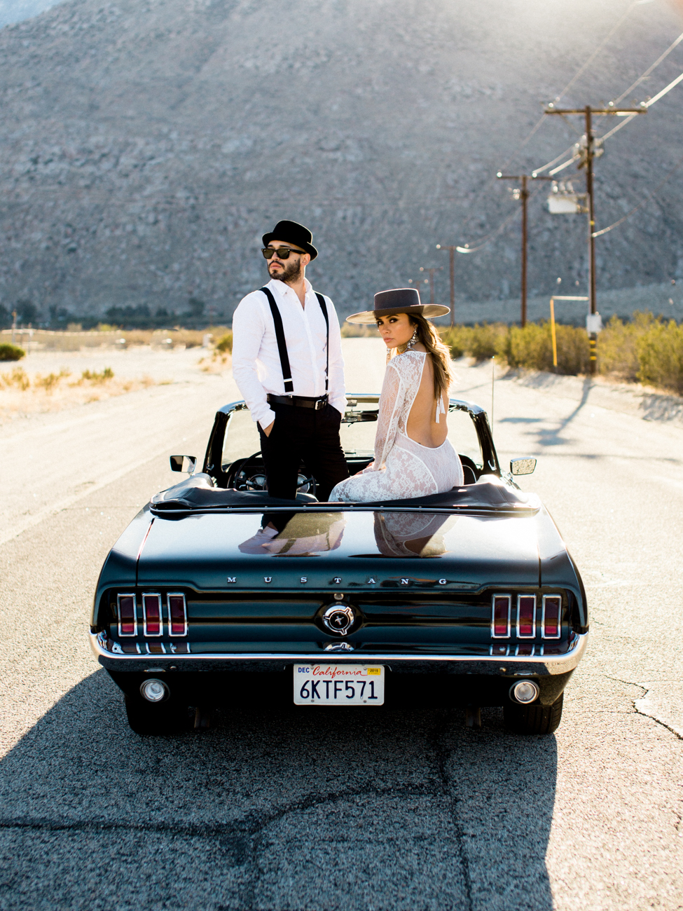 VALERIE STAR & JIMMY | Palm Springs Engagement