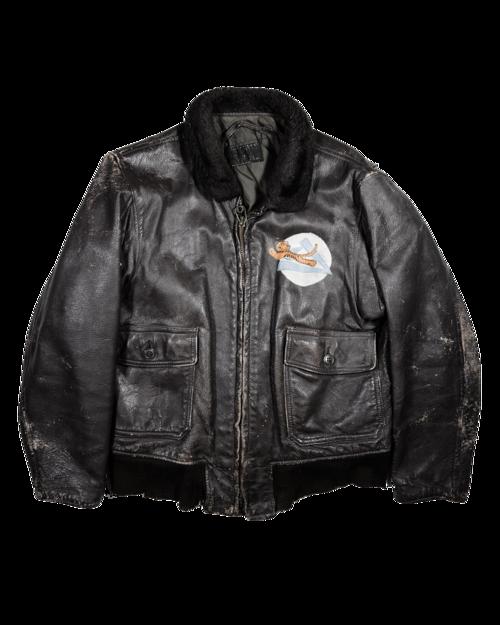 RARE WW2 authentic Bomber jacket — 1 9 2 4 U S