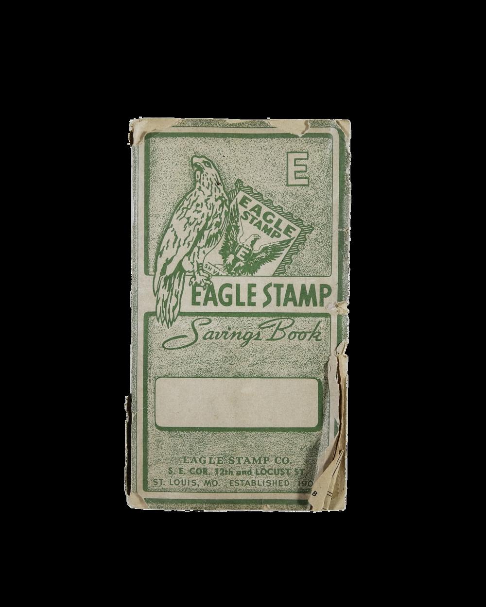 Vintage Eagle Stamp Booklet