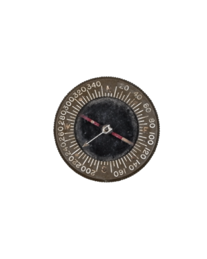 Vintage WWII Bakelite Paratrooper Wrist Compass