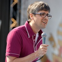 Mo Rocca,  Iron Chef Judge and Food Network Personality