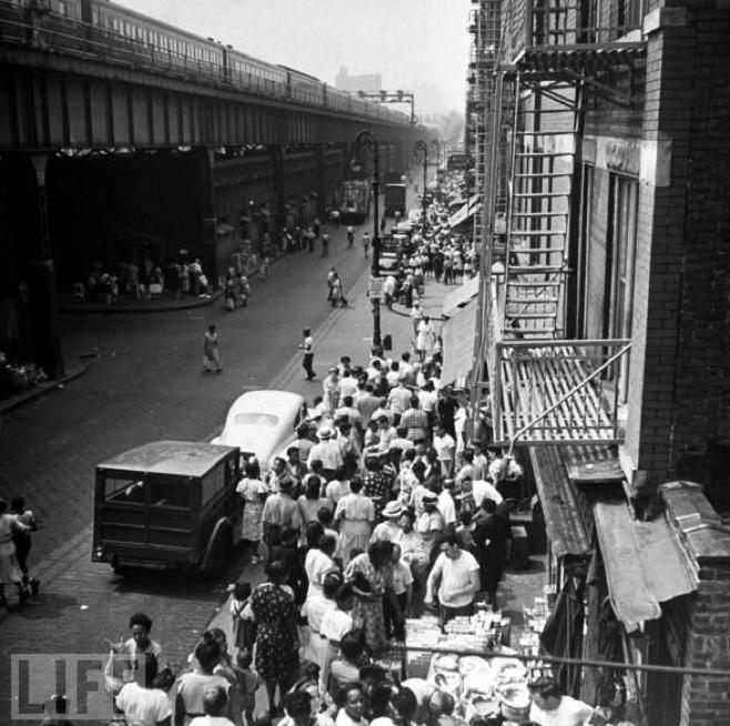 La Marqueta circa 1945