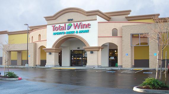 Total Wine- Roseville - Fairway Commons Shopping Center5791 Five Star BoulevardRoseville, California(916) 791-2488