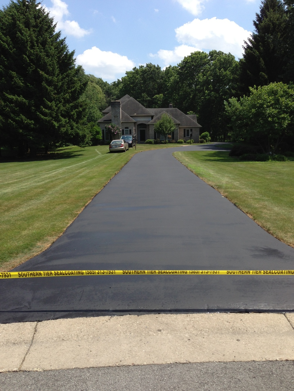 Southern Tier Sealcoating provides Commercial and Residential customers with eco-friendly asphalt sealing services in Rochester, NY. We provide crack repairs, asphalt repair, power blowing, sweeping and edging.