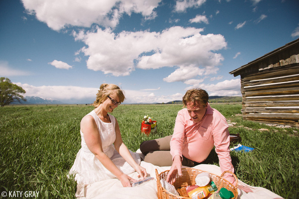 Jackson Hole wedding elopement