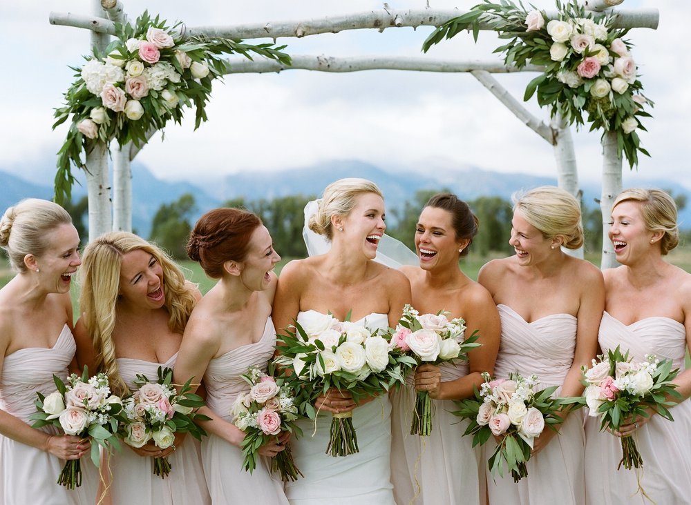 Jackson Hole summer wedding