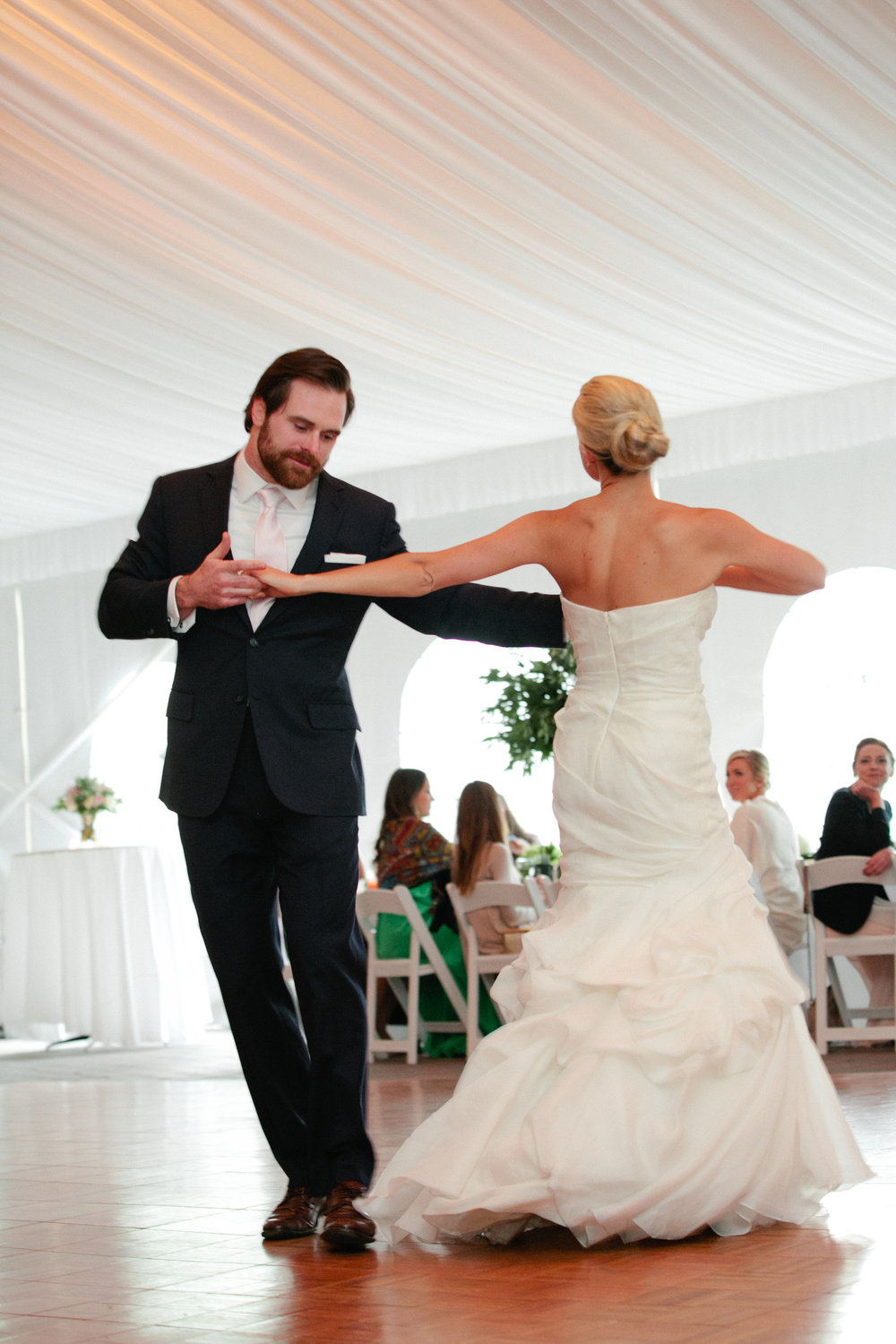 Jackson Hole Golf and Tennis Club wedding first dance