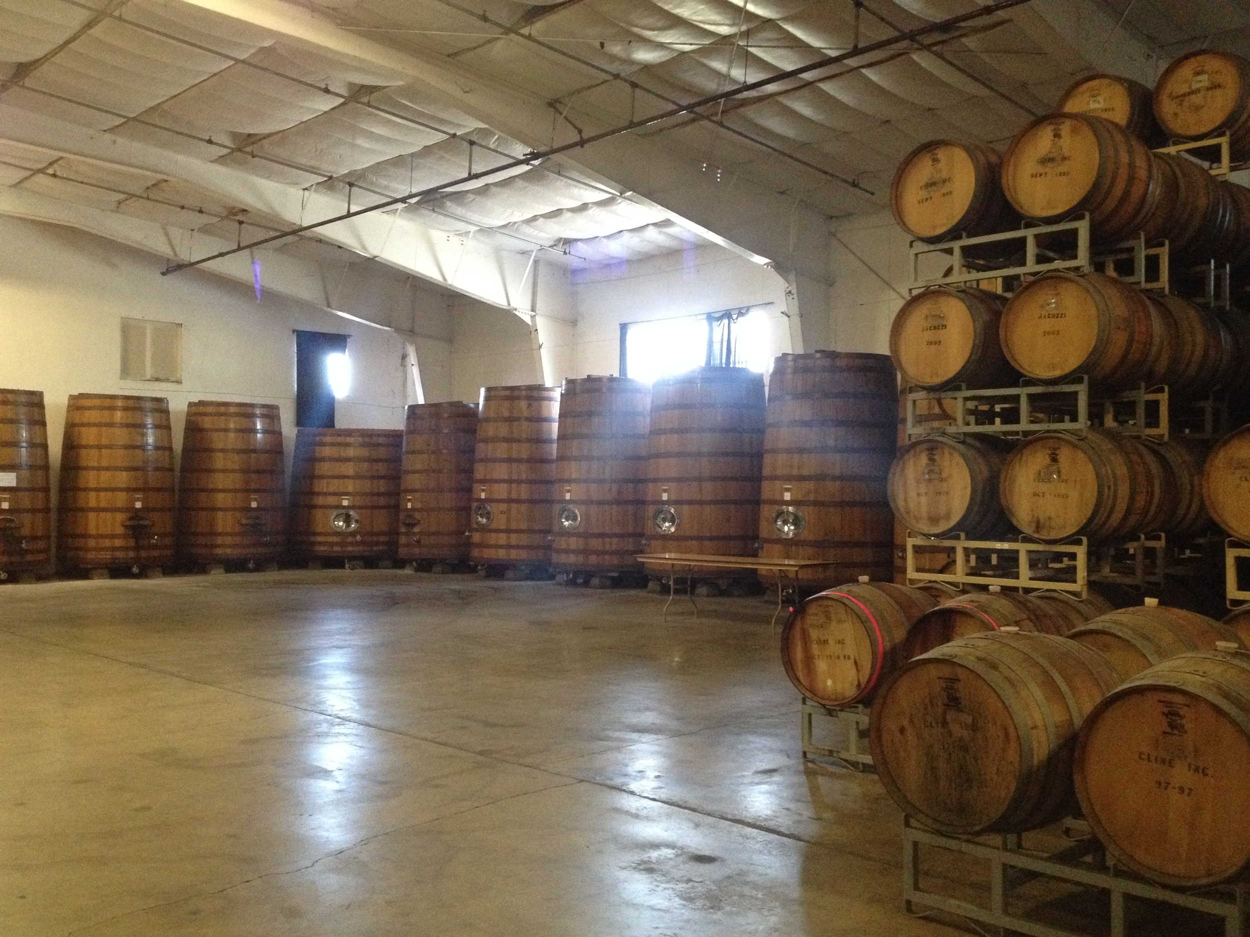 Barrel room for indoor wedding receptions
