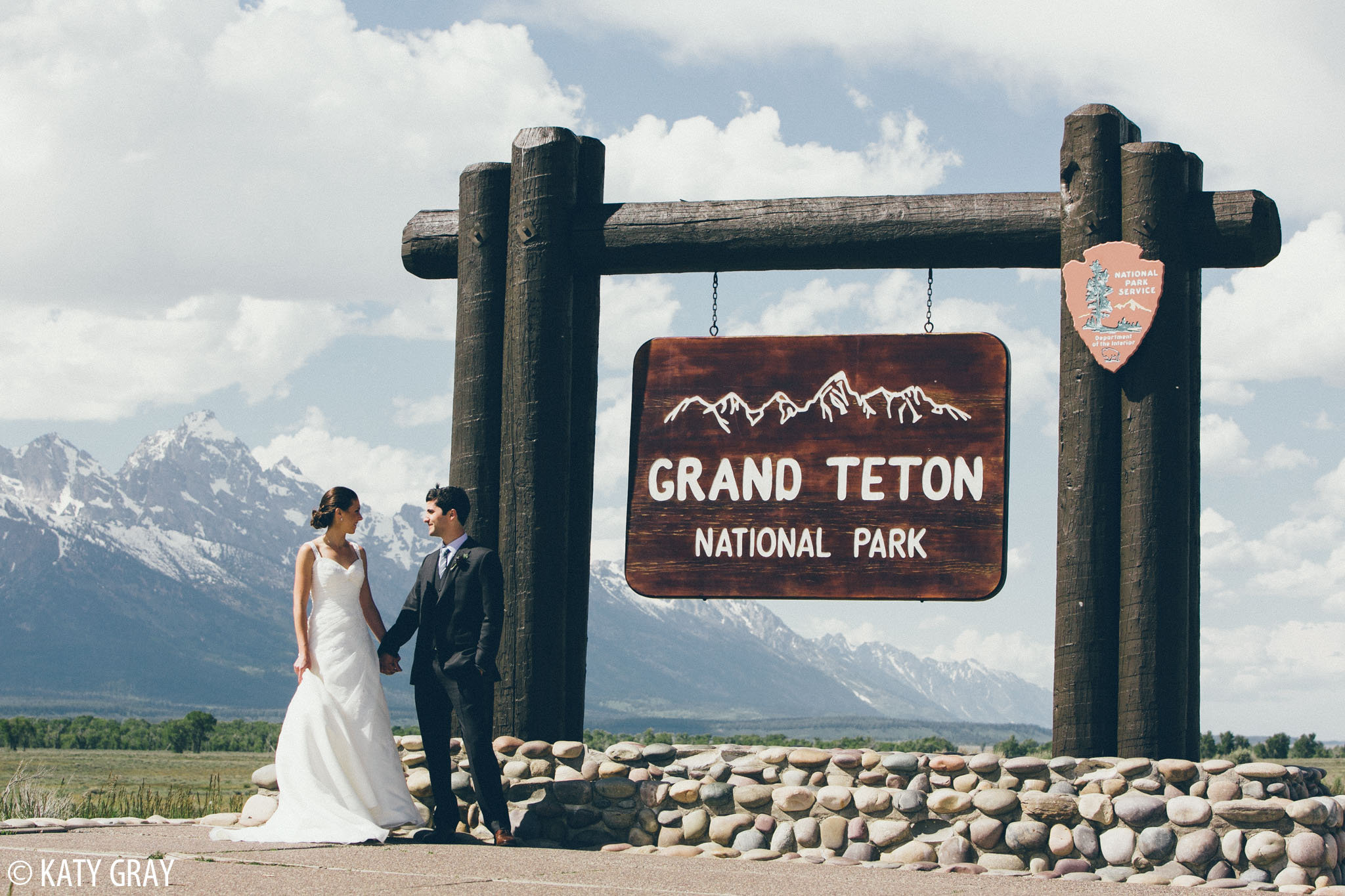 Grand Teton National Park wedding photos