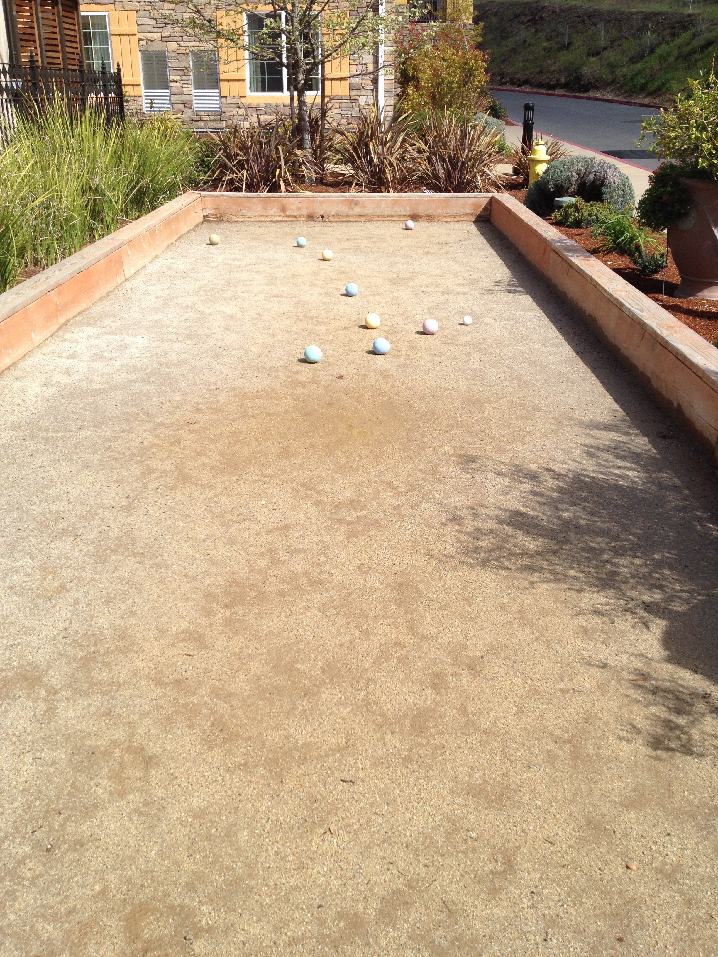 Bocce at Silverado Resort