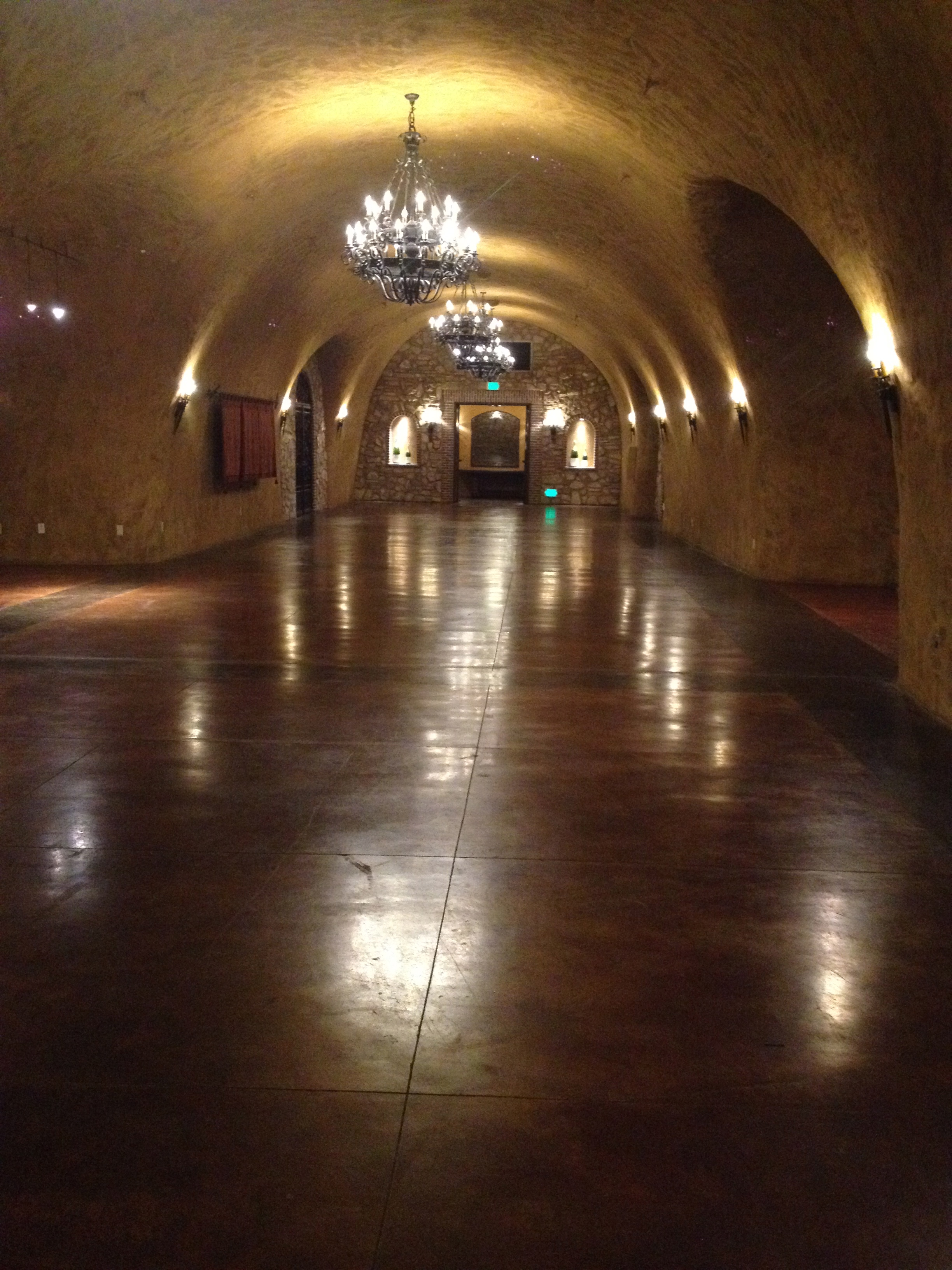 wine cave for weddings at Silverado Resort