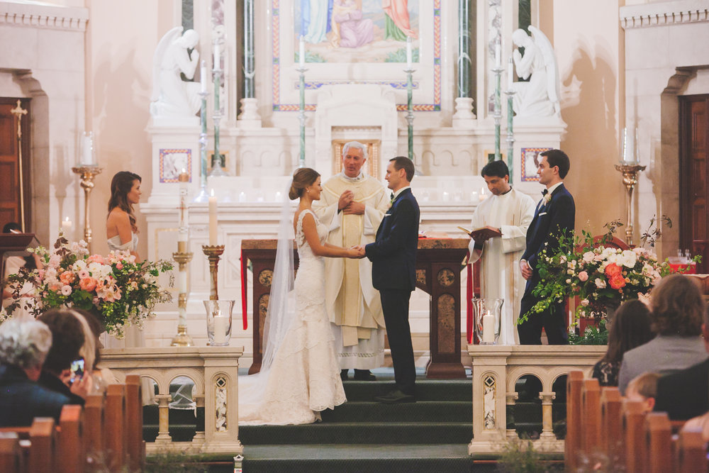 Wine Country Wedding Church Vows